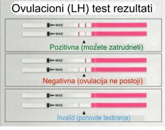 Mogući rezultati testiranja